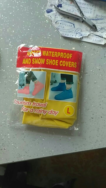 Waterproof Shoe Covers photo review