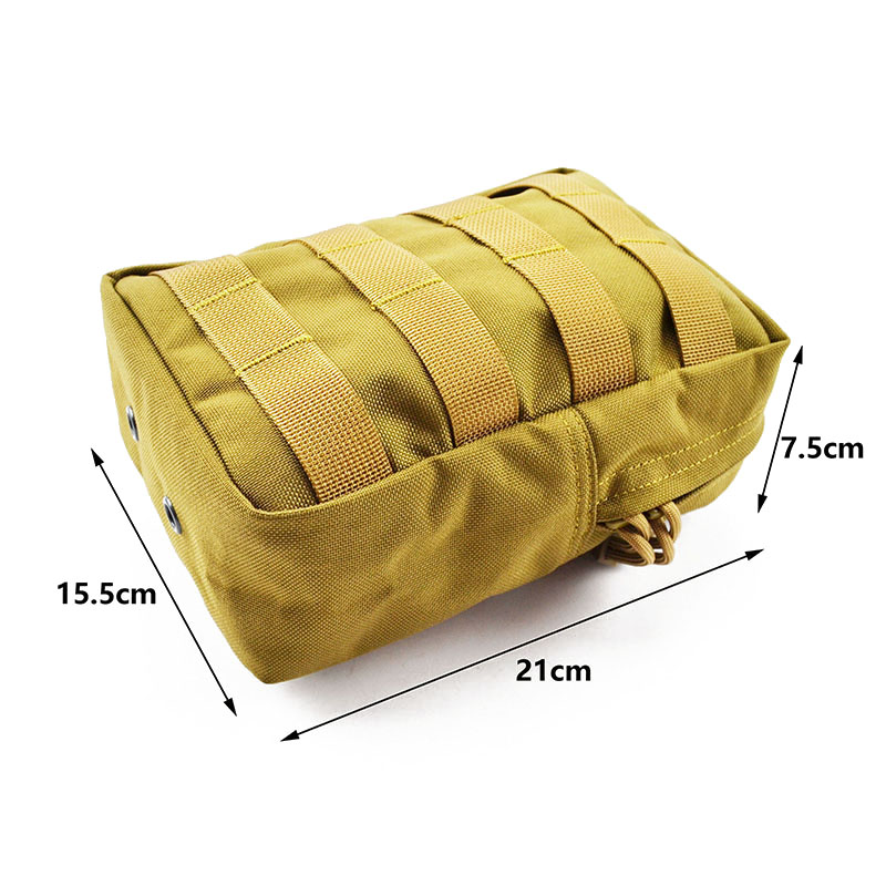MOLLE Accessories Pouch CORDURA Modular Combat Hunting Camping Climb Tactical Hike Outdoor TW-P008