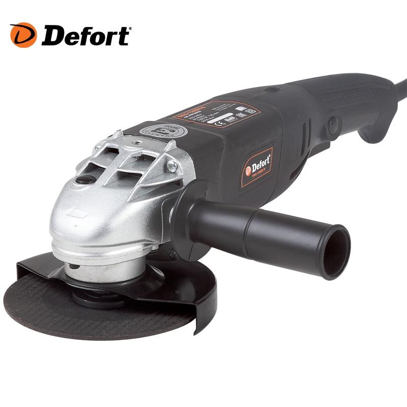 Angle grinder Defort DAG-1200N-R шлифовальная машина defort dag 2207