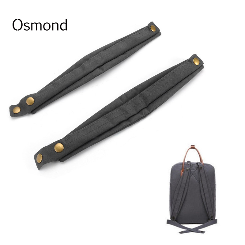 Osmond Backpacks Shoulder Strap Classic Middle Size Shoulder Pads For Classic Medium Size Backpack Black Gray Bag Accessories