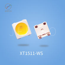 Jercio XT1511-W (similar with ws2812b) single white color three temperature NW/WW/BW programmable smd LED