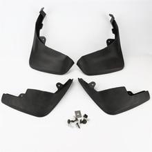 4pcs Black Top Quality Fender Mud Flaps Splash Guard For AUDI Q5 LFD 400 007 WA/B/C/D