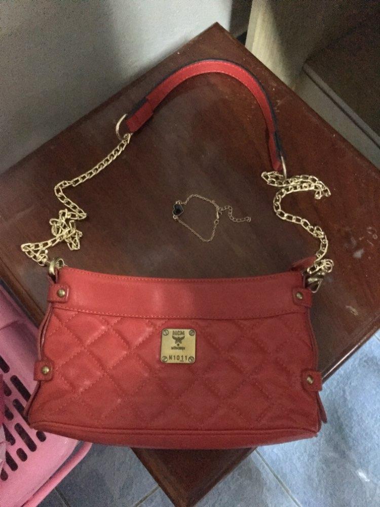 Women's Bag Chain Bag Strap Bag Shoulder Strap Accessories Shoulder Slung Metal Chain Bag with Leather Chain Wide Shoulder Strap photo review