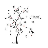 UXCELL Black Tree Branches Wall Art Sticker Decal Wallpaper Decor sticker | wall