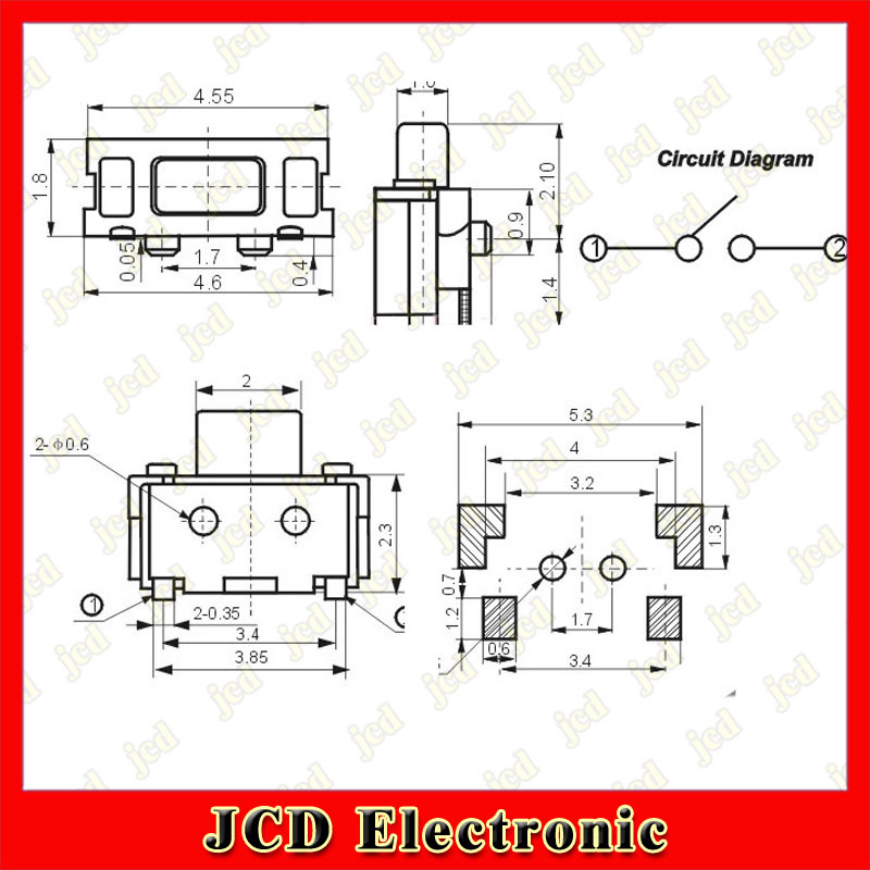 4 pin tactile switch wiring diagram 4 pin toggle switch
