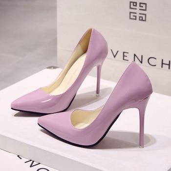 New Korean fashion versatile pointed high heels. Pumps