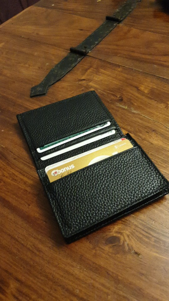 Men Business Card Holder Card Leather Cowhide Genuine Leather Credit ID Case For Man Card Holders Black High Quality Famous Bags photo review