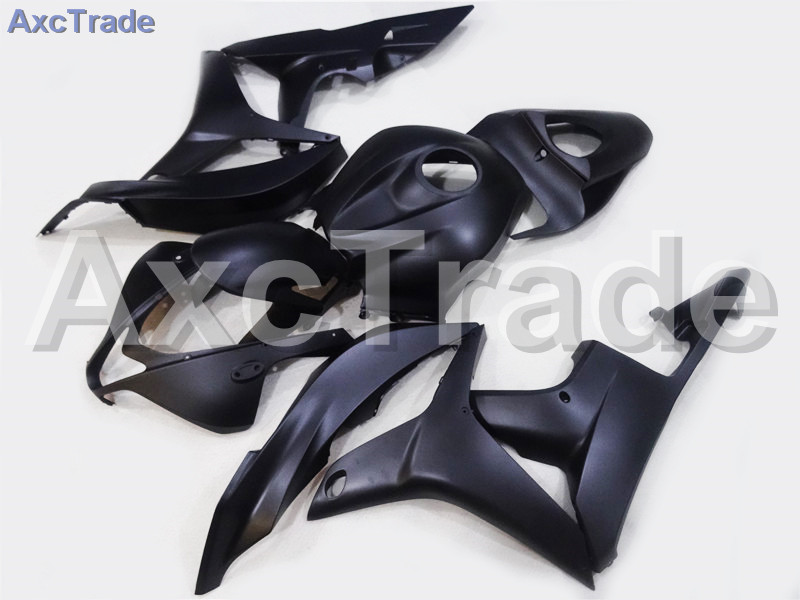 Motorcycle Fairings For Honda CBR600RR CBR600 CBR 600 RR 2007 2008 07 08 F5 ABS Plastic Injection Fairing Bodywork Kit Black 228 abs injection fairings kit for honda 600 rr f5 fairing set 07 08 cbr600rr cbr 600rr 2007 2008 castrol motorcycle bodywork part