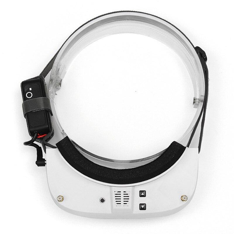 Eachine EV100 720*540 5.8G 72CH FPV lunettes avec double antennes ventilateur 7.4 V 1000 mAh batterie - 5