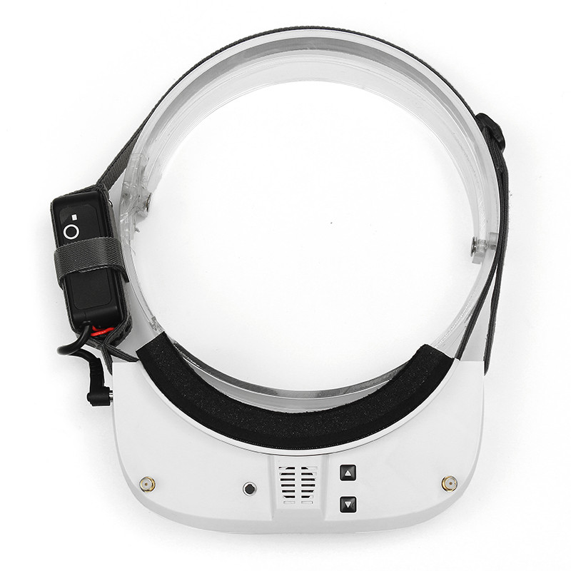 Eachine EV100 720*540 5.8G 72CH lunettes fpv Avec Double Antennes Ventilateur 7.4 V 1000 batterie mah - 5