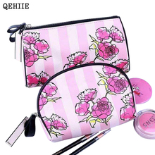 QEHIIE High Quality Makeup Bags Professional Beautician Travel Cosmetic Bag Organizer  Beauty Box Toilet Makeup Box Essential