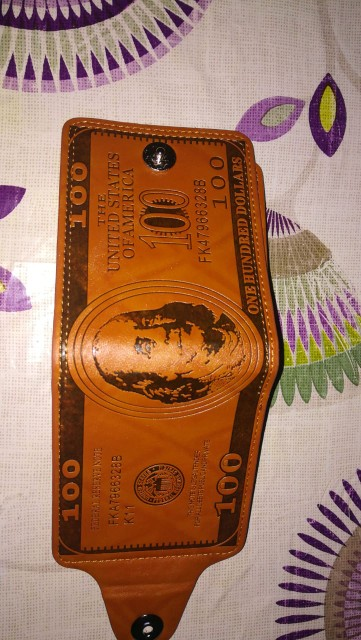 WENYUJH Fashion Men Wallets Dollar Figure Print Credit Wallet Man Clutch PU Money Clip Long Male Purse for Coins Multi Pocket photo review