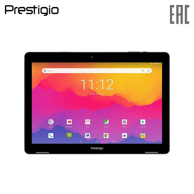 "Планшет PRESTIGIO Wize 3761 3G, Single Micro-SIM, 10.1"" WXGA(1280х800)IPS, 1.3GHz quad core processor, android 8.1, 1GB RAM+16GB"
