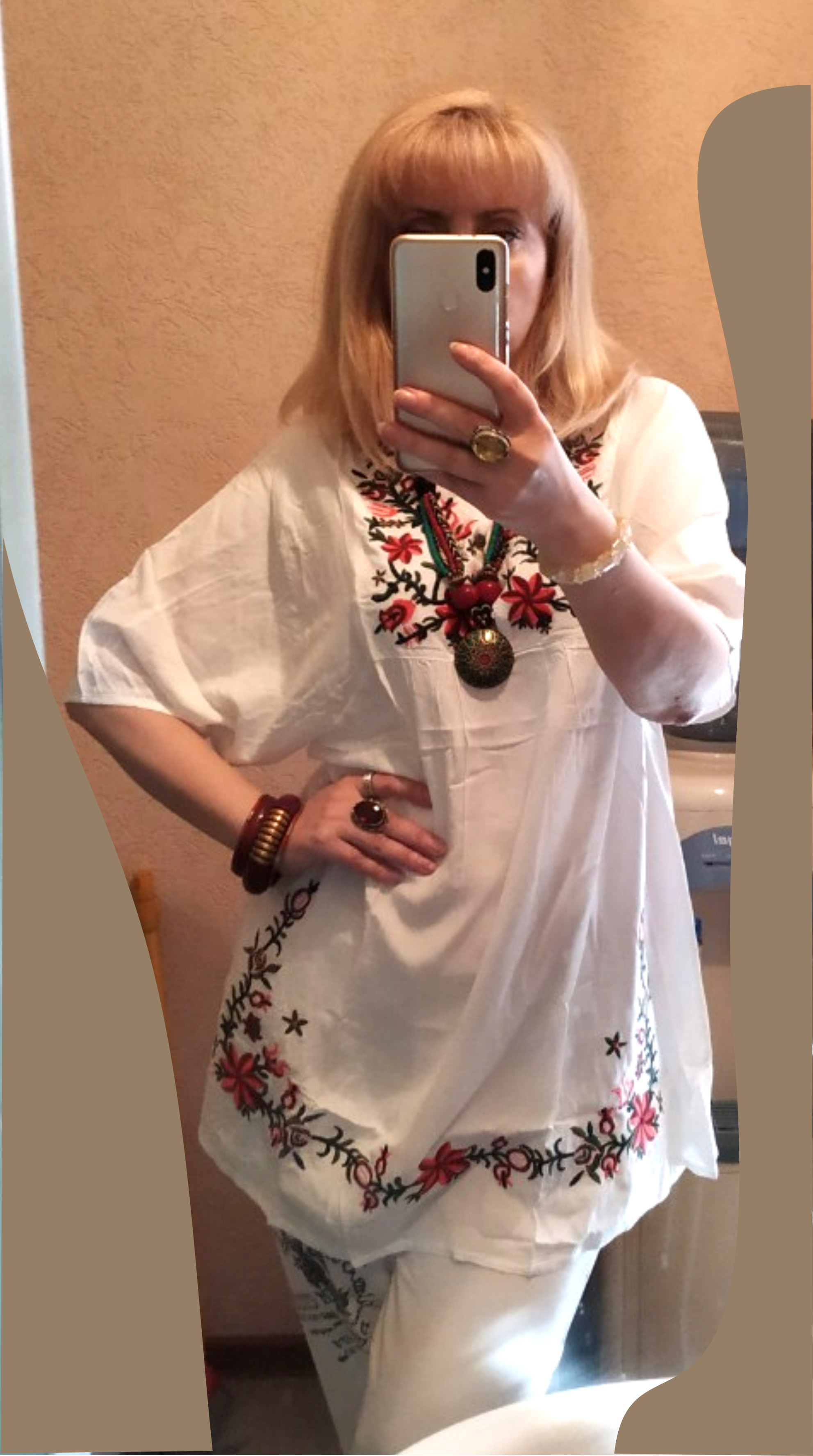 Summer Women Mexican Embroidered Floral Peasant Blouse Vintage Ethnic Tunic Boho Hippie Clothes Tops Blusa Feminina photo review