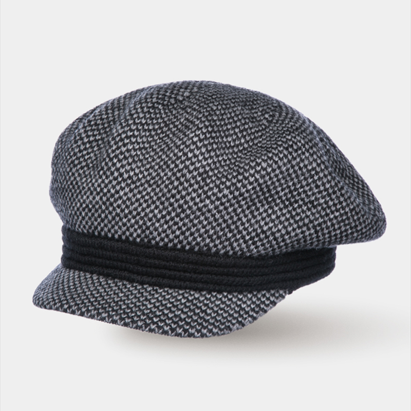 [Available from 10.11]Hat Newsboy hat Canoe 3450757 sewing thread tartan newsboy cap with embroidery