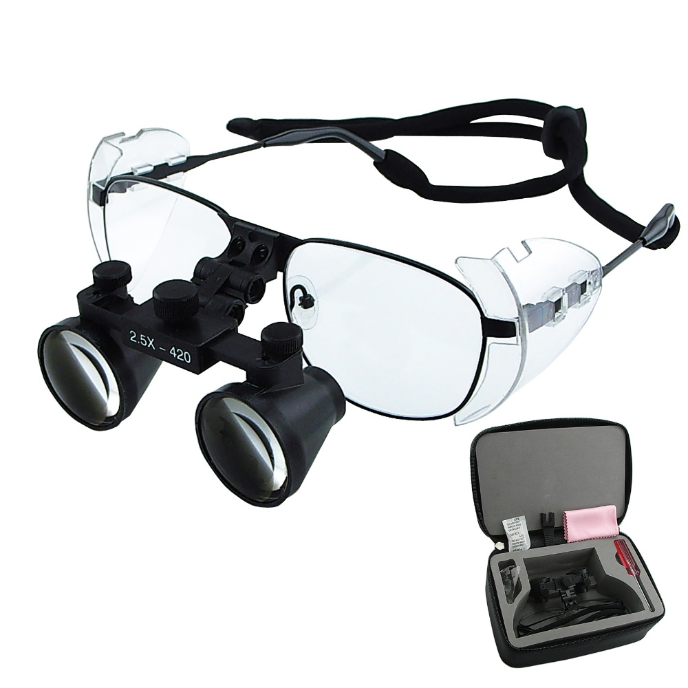 Dental Loupes Keplerian Galilean Style Magnification 2 5x 3 5x 4x 6x Binocular Surgical Medical Dentistry