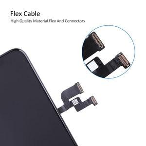 Image 5 - Elekworld sztywne elastyczne OLED AAA jakość testowane działa dobrze LCD dla iPhone XS wyświetlacz LCD 3D ekran dotykowy Digitizer zgromadzenie
