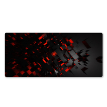 Personality Red 3D Pattern Mouse Pad