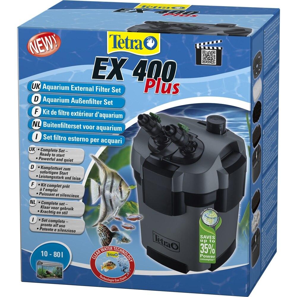 External filter for aquariums Tetra EX 400 Plus for aquariums up to 80 liters natural reef aquariums