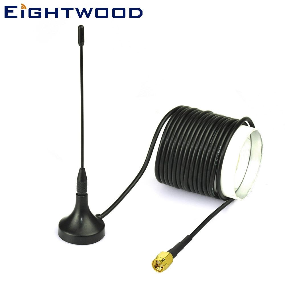 Eightwood цифровая антенна Freeview 5dBi антенна на магнитной основе для DVB-T T2 ТВ HD ТВ цифровая ТВ антенна DVB-T T2
