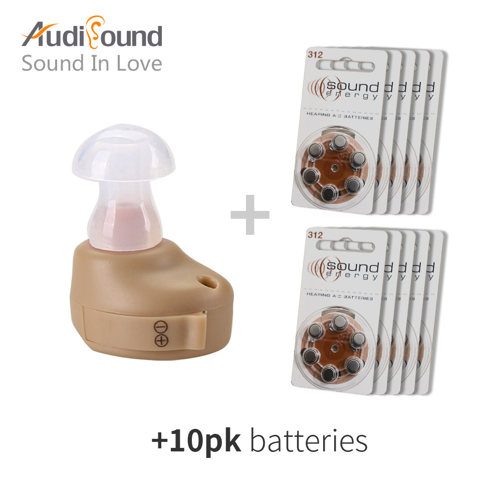 Ear Hearing Aid Mini Invisible Hearing Device Sordos Ear Voice Sound Amplifier Digital Hearing Aids For The Deaf Hearing