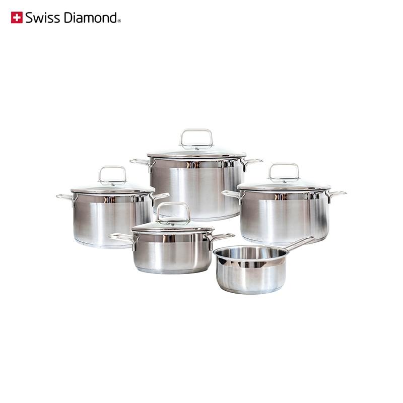 Dinner set Swiss Diamond SD PS SET L5 cookware for kitchen tableware dinnerware цены