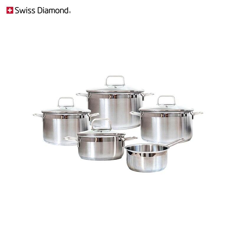 Набор посуды Swiss Diamond SD PS SET L5
