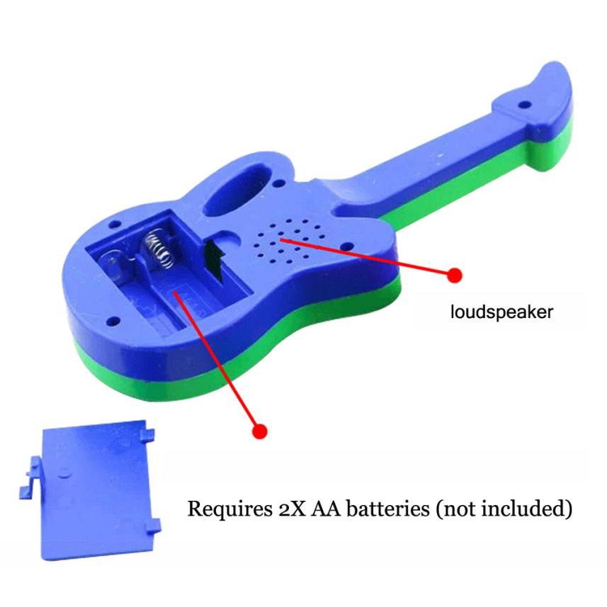 Baby Kids Cute Electronic Guitar Rhyme Developmental Music Sound Child Toy