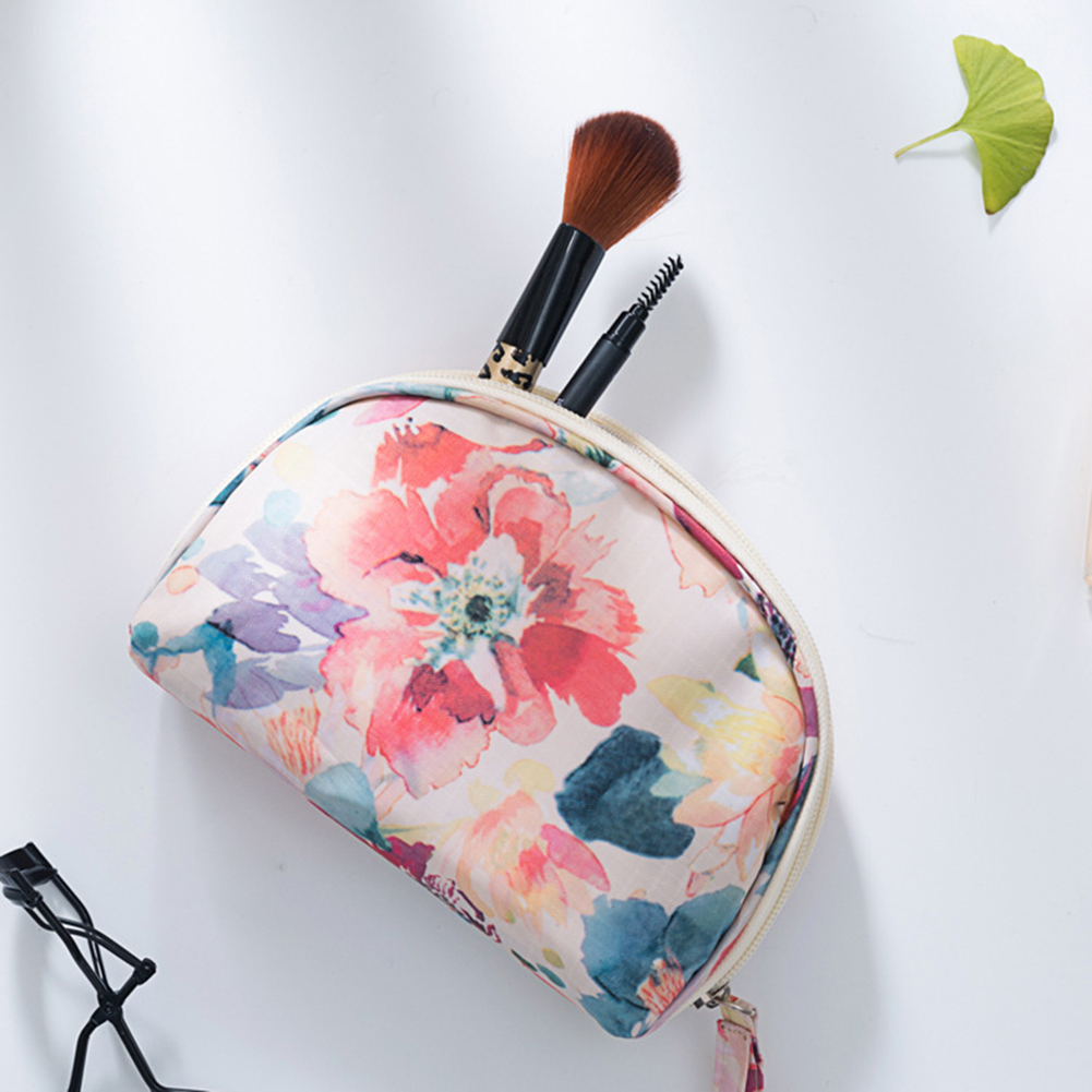 Portable Fashion Flower Women Makeup Bag Travel Cosmetic Storage Pouch Case