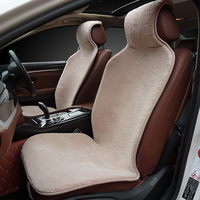 2pc The very popular car seat cover Short and smooth faux fur universal size for all types of seats for car skoda octavia a5