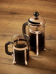 Pashabahce Coffee & Tea Maker French Press Stainless Steel Heat-Resistant