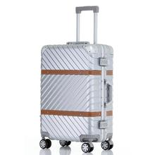 "Con Ruedas Valise Bagages Roulettes Travel Marco de aleación de aluminio Carro Carro Maleta Koffer Equipaje Maleta 20 ""24"" 26 ""29"" inch"