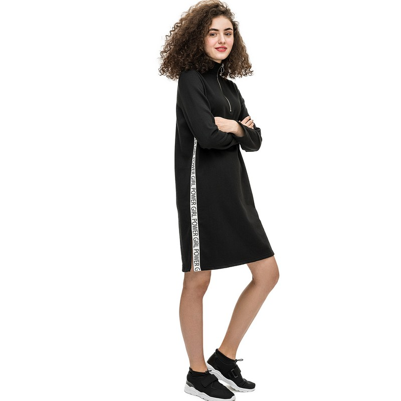 Dresses dress befree for female  long sleeve women clothes apparel  casual spring 1811369593-50 TmallFS shawl collar long sleeve one button cardigan