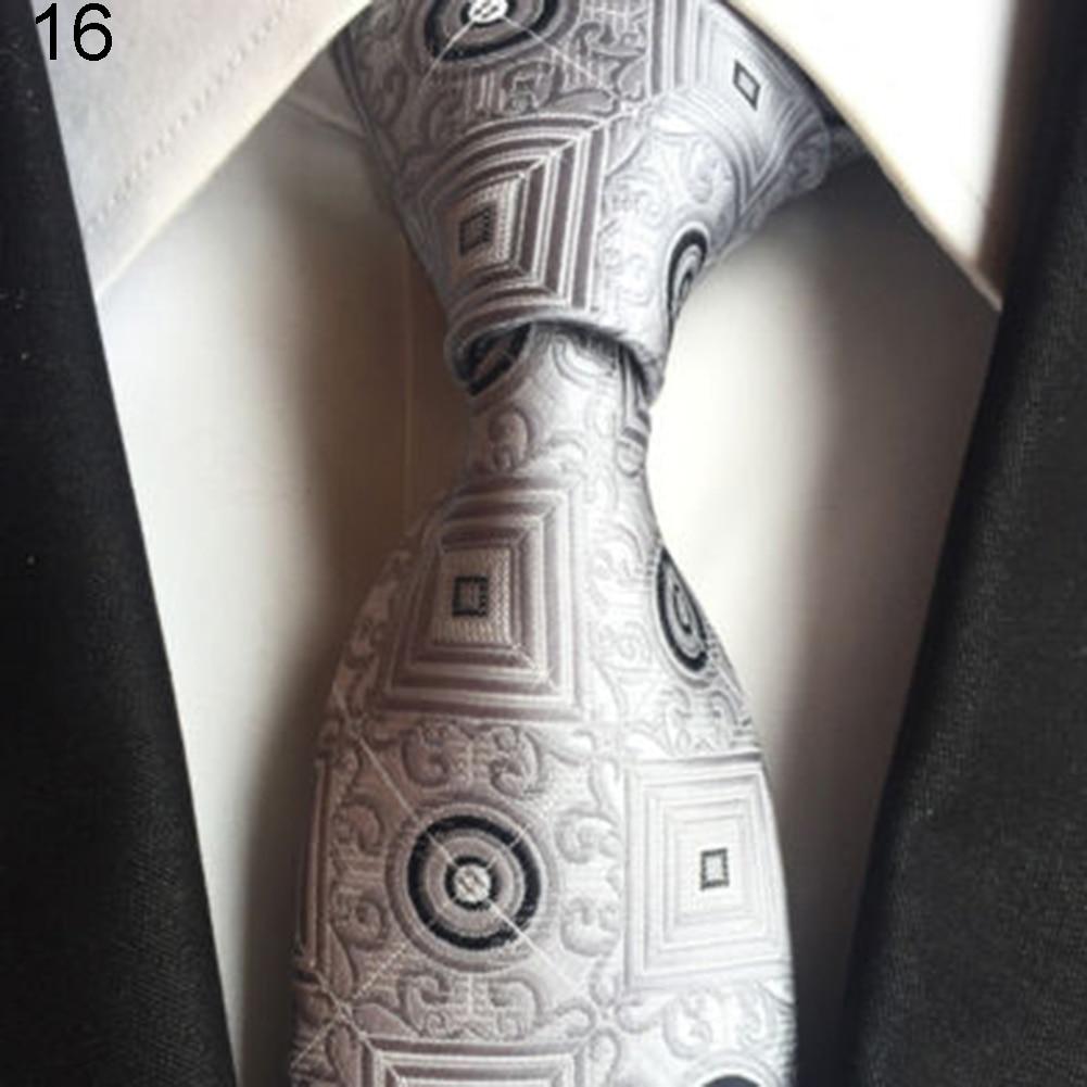 Mens Fashion Dots Flower Soft Tie Necktie Neck Ties Business Suit Accessory