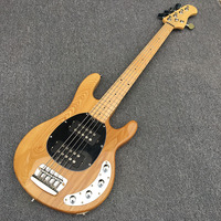Hot Selling,Music man Bass 5 Strings Erime Ball StingRay Electric Guitar Chrome Hardware,Ash body,Active pickup,Real photo shows