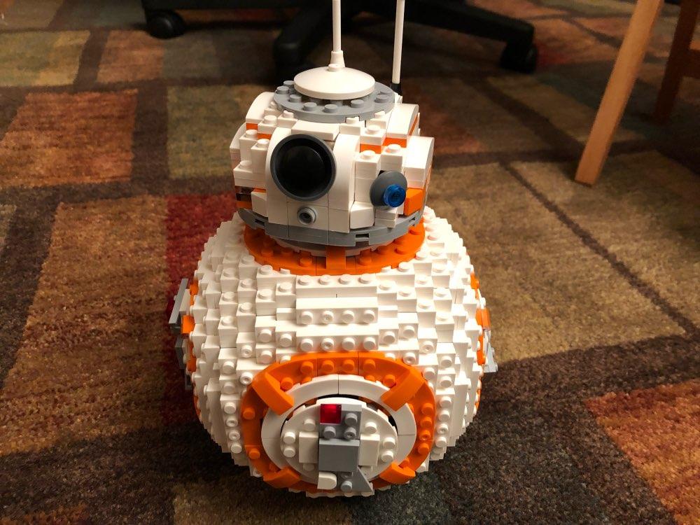 LEPIN 05128 Star Wars The 75187 BB8 Robot Block Set (1238Pcs) photo review