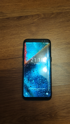 Ghost Glass Samsung Case photo review