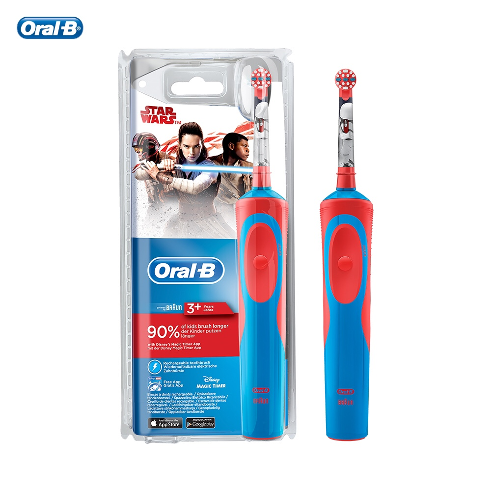 Aliexpress.com   Buy Cepillo de dientes electrico Oral B Stages Power Kids  de Star Wars from Reliable Electric Toothbrushes suppliers on OralB  Official ... 5e256ec62463
