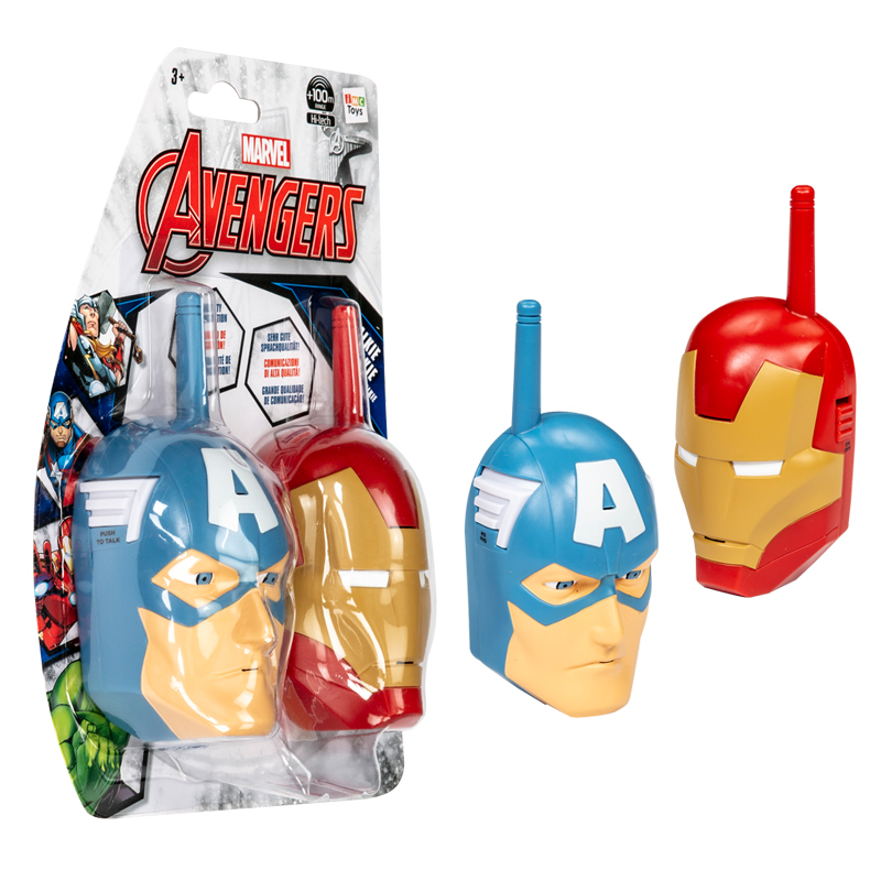 The Avengers - Walkie-Talkie (IMC Toys 390089))- Avengers Walkie-Talkie