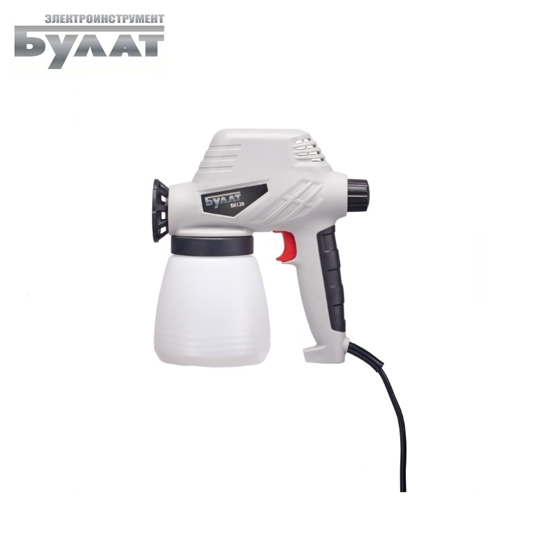 Spray Gun Bulat BK 120 Compressed-air painting apparatus Pneumatic paintbrush Painting large parts Compressed air pressure paint