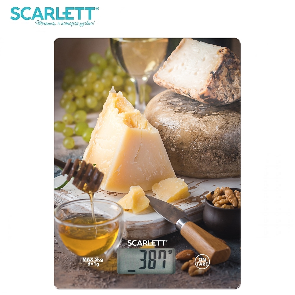 Scale kitchen Scarlett SC-KS57P46 Kitchen scale kitchen Measuring Tool Scales for kitchen Electronic scale brand eyki 30m waterproof business casual watch roman scale couple watches digital scale leather strap japan movement 1005