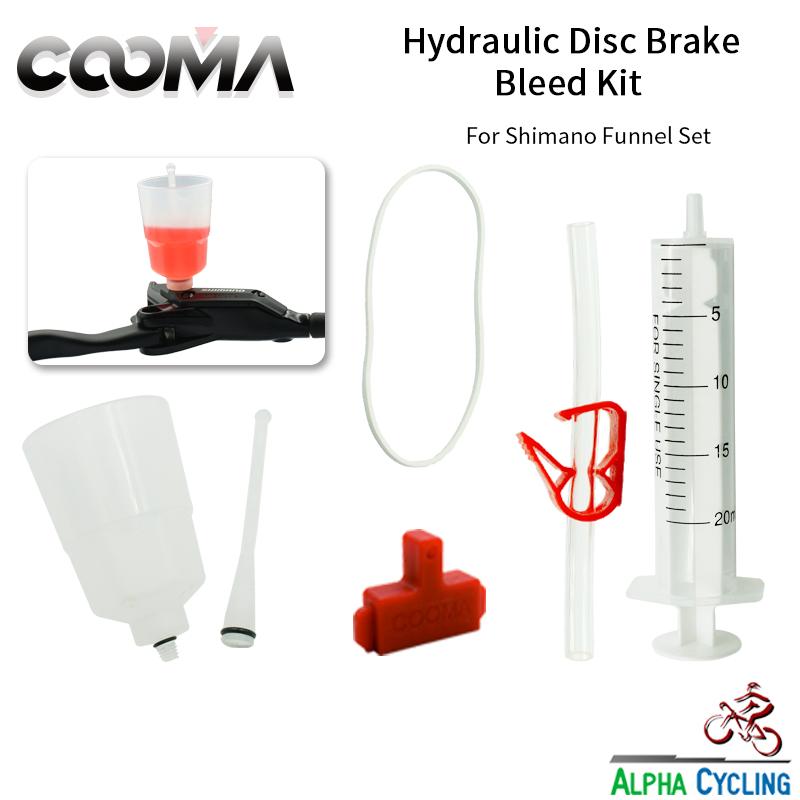 COOMA's Hydraulic Brake BLEED KIT For SHIMANO Brake System, Mineral Oil Brake, Basic V0.7