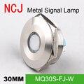 NCJ 30 мм металлическая светодиодная сигнальная лампа  индикатор  пилот  предупреждающий свет  вывеска  панель для автомобиля  приборная панел...