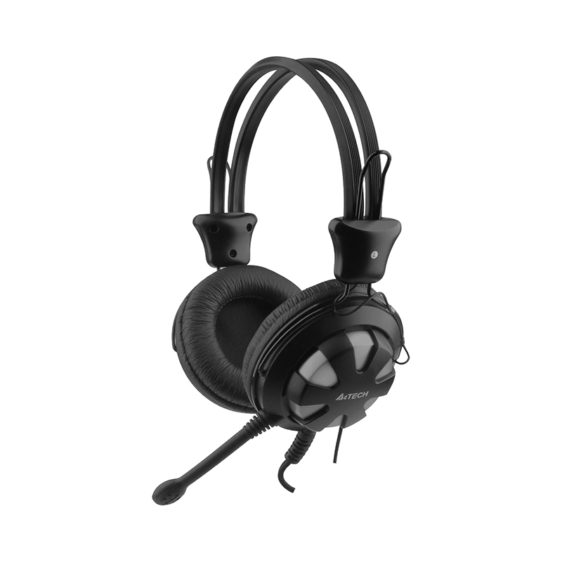 Gaming Headphone A4tech HS-28 silver 3 5mm stereo gaming headphone headset headphone with mic microphone for pc laptop skype
