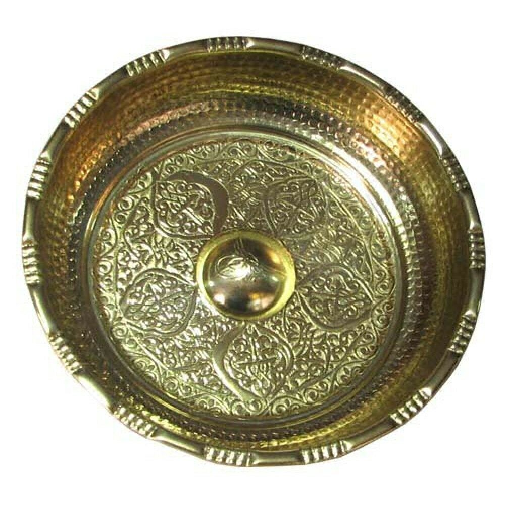 Handmade Classy Copper Turkish Bath Bowl, Hamam, Antiquated Colors, Engraved
