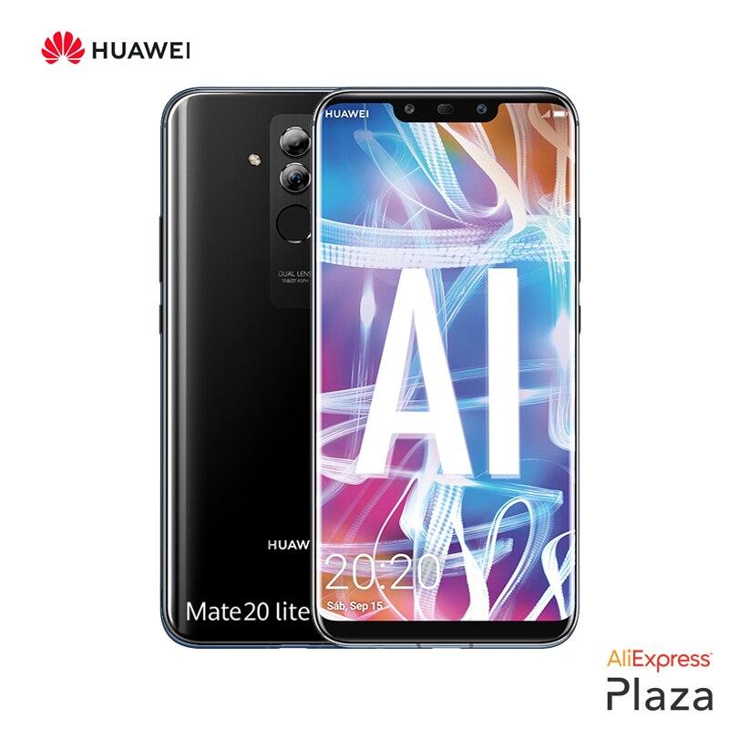 Huawei mate 20 lite smartphone (4 gb ram, 64 gb rom, teléfono móvil. libre, nuevo, barato, google, android) [versión española oficial]