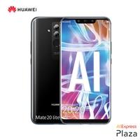 Smartphone Huawei Mate 20 Lite Pantalla 6,3(4GB RAM,64GB ROM,teléfono,móvil libre,nuevo,Cámara Frontal 24MP)[Versión Española]