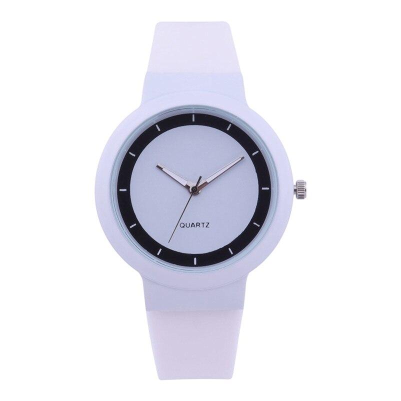 Fashion women watches bracelet watch ladies Silicone Band Analog Quartz Round Wrist Watch Watches clock Relogio Masculino S20 (8)