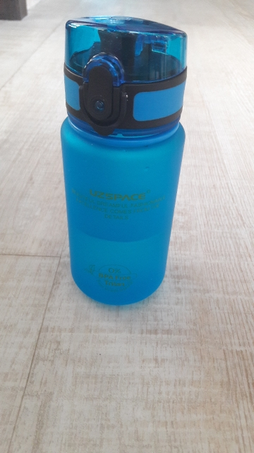 Hot Sale Uzspace Protein Shaker Portable Motion My Tritan Water Bottle Bpa Free Plastic For Sports camping hiking 350/500/650ml