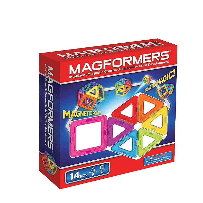 Bloques MAGFORMERS 3323946 Constructor Minecraft juguetes figuras de diseño magnético Ninjago